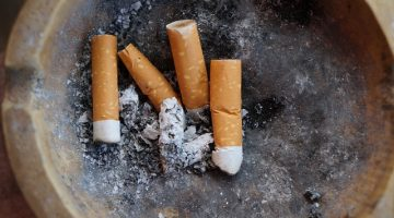 Zigaretten Raumklima